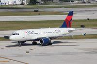 N327NB @ FLL - Delta A319