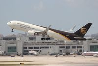 N335UP @ MIA - UPS 767-300F