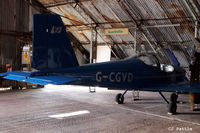 G-CGVD @ EGCB - Tucked away in a hangar at Barton airfield, Manchester - EGCB - by Clive Pattle