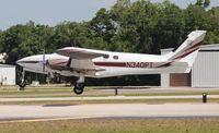 N340PT @ LAL - Cessna 340