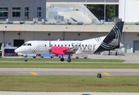 N343AG @ FLL - Silver Airways