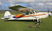LN-BDO @ ESGS - Rare Cessna. - by Krister Karlsmoen
