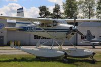 LN-LMG @ ENKJ - Seaplane on land. - by Krister Karlsmoen