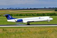 F-GNLH @ LOWW - Fokker F-100 [11311] (Blue Line) Vienna-Schwechat~OE 13/07/2009