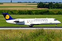 D-ACHA @ LOWW - Canadair CRJ-200LR [7378] (Lufthansa Regional) Vienna-Schwechat~OE 13/07/2009 - by Ray Barber