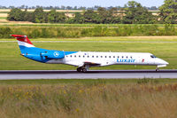 LX-LGZ @ LOWW - Embraer ERJ-145LU [145258] (Luxair) Vienna-Schwechat~OE 13/07/2009