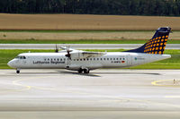 D-ANFG @ LOWW - Aerospatiale ATR-72-212A [658] (Contact Air/Lufthansa Regional) Vienna-Schwechat~OE 13/07/2009 - by Ray Barber