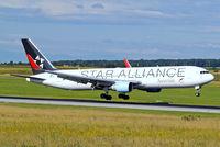 OE-LAY @ LOWW - Boeing 767-3Z9ER [29867] (Austrian Airlines) Vienna-Schwechat~OE 13/07/2009