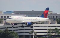 N357NB @ TPA - Delta A319 - by Florida Metal