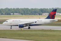 N358NB @ DTW - Delta A319
