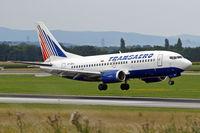VP-BPA @ LOWW - Boeing 737-5K5 [25037] (Transaero Airlines) Vienna-Schwechat~OE 13/07/2009 - by Ray Barber