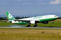 B-16312 @ LOWW - Airbus A330-203 [755] (EVA Airways) Vienna-Schwechat~OE 13/07/2009 - by Ray Barber