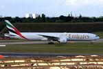 A6-EBD @ EGBB - Emirates - by Chris Hall