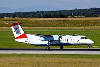 OE-LTI @ LOWW - De Havilland Canada DHC-8Q-314B Dash 8 [466] (Austrian Airlines) Vienna-Schwechat~OE 13/07/2009