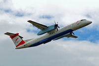 OE-LGA @ LOWW - De Havilland Canada DHC-8Q-402 Dash 8 [4014] (Austrian Airlines) Vienna-Schwechat~OE 13/07/2009