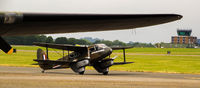 G-AGJG - G-AGJG - Taking off under the wing of a B17 at Northolt Aerodrome during RAF Northolt Centenary Open Day. - by Phil Edwards