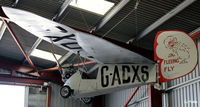 G-ADXS @ EGBR - Hnagared at Breighton Airfield, Yorkshire - EGBR - by Clive Pattle