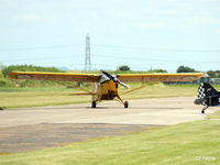 G-BLPG @ EGBR - In action at The Real Aeroplane Company Ltd Radial Fly-In, Breighton Airfield, Yorkshire, U.K.  - EGBR - by Clive Pattle