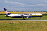 N764NA @ LOWW - Boeing 767-328ER [27135] (North American Airlines) Vienna-Schwechat~OE 13/07/2009
