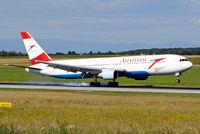 OE-LAT @ LOWW - Boeing 767-31AER [25273] (Austrian Airlines) Vienna-Schwechat~OE 13/07/2009