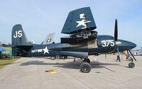 N379AK @ LAL - F7F Tiger Cat