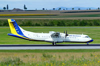 E7-AAD @ LOWW - Aerospatiale ATR-72-212 [464] (B & H Airlines) Vienna-Schwechat~OE 13/07/2009