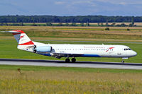 OE-LVI @ LOWW - Fokker F-100 [11468] (Austrian Arrows) Vienna-Schwechat~OE 13/07/2009