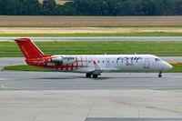 S5-AAD @ LOWW - Canadair CRJ-200LR [7166] (Adria Airways) Vienna-Schwechat~OE 13/07/2009 - by Ray Barber
