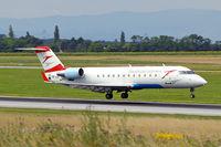OE-LCP @ LOWW - Canadair CRJ-200LR [7480] (Austrian Arrows) Vienna-Schwechat~OE 13/07/2009 - by Ray Barber