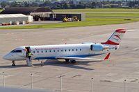 OE-LCP @ LOWS - Canadair Regional Jet 200LR [7480] (Austrian Arrows) Salzburg~OE 16/07/2009 - by Ray Barber