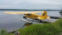 C-FMUG @ CYSB - Sudbury Aviation, Whitewater Lake - by Joel Brosseau