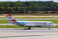 OE-LFK @ LOWW - Fokker F-70 [11555] (Austrian Arrows) Vienna-Schwechat~OE 13/07/2009