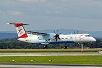 OE-LGH @ LOWW - De Havilland Canada DHC-8Q-402 Dash 8 [4075] (Austrian Arrows) Vienna-Schwechat~OE 13/07/2015