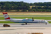 OE-LGH @ LOWW - De Havilland Canada DHC-8Q-402 Dash 8 [4075] (Austrian Arrows) Vienna-Schwechat~OE 13/07/2015 - by Ray Barber