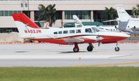 N402JH @ FLL - Cessna 402C