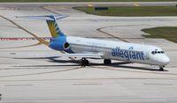 N404NV @ FLL - Allegiant MD-88