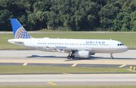 N411UA @ TPA - United A320