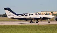 N414XX @ ORL - Cessna 414A