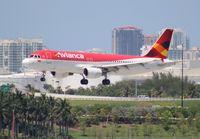 N417AV @ FLL - Avianca