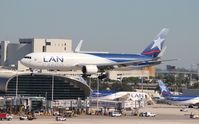 N418LA @ MIA - LAN Chile Cargo