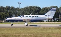 N421KD @ ORL - Cessna 421C