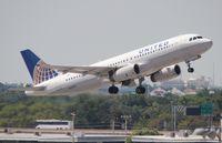 N435UA @ FLL - United A320