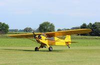 N98413 @ 7V3 - Piper J3C-65 - by Mark Pasqualino