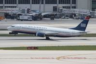 N439US @ MIA - US Airways 737-400