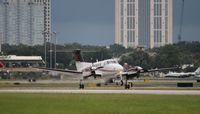 N444KM @ ORL - King Air 250