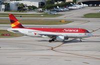 N446AV @ FLL - Avianca
