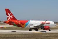 9H-AEH @ LMML - A319 9H-AEH Air Malta - by Raymond Zammit