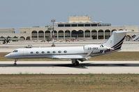CS-DKD @ LMML - Gulfstream GV G550 CS-DKD Netjets - by Raymond Zammit