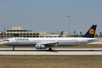 D-AIDI @ LMML - A321 D-AIDI Lufthansa - by Raymond Zammit