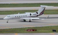N468QS @ MIA - Net Jets